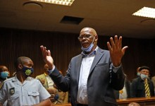 Ace Magashule in court