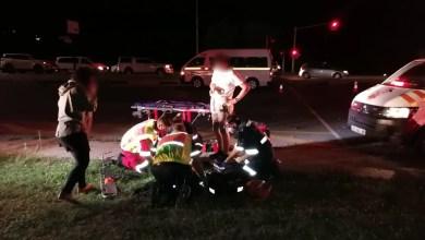 Biker seriously injured in Nelspruit collision