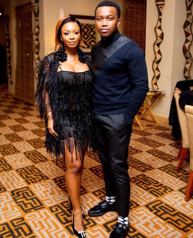 Boity sends a sweet Birthday message to the Love of her life