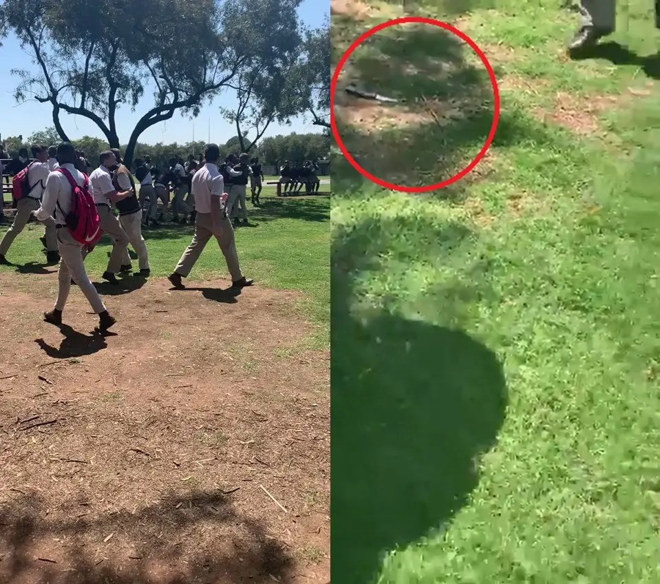 Grade 11 pupil stabbed by another learner during a heated fight on school grounds
