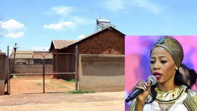 Kelly Khumalo home