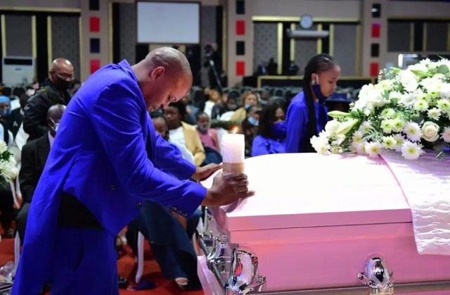 I love you mommy – Mshoza's daughter breaks at memorial service, got people in tears with her touching words | News365.co.za