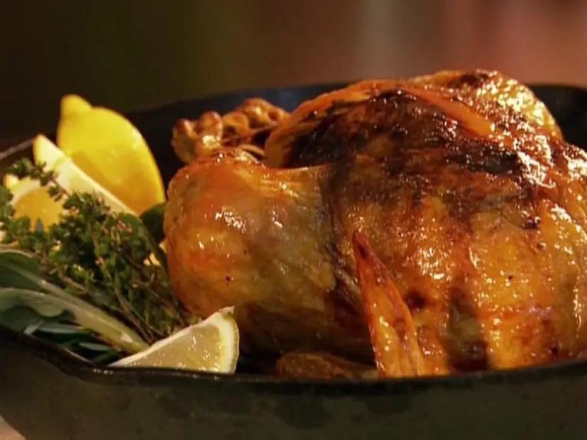 Roast chicken with perfect gravy