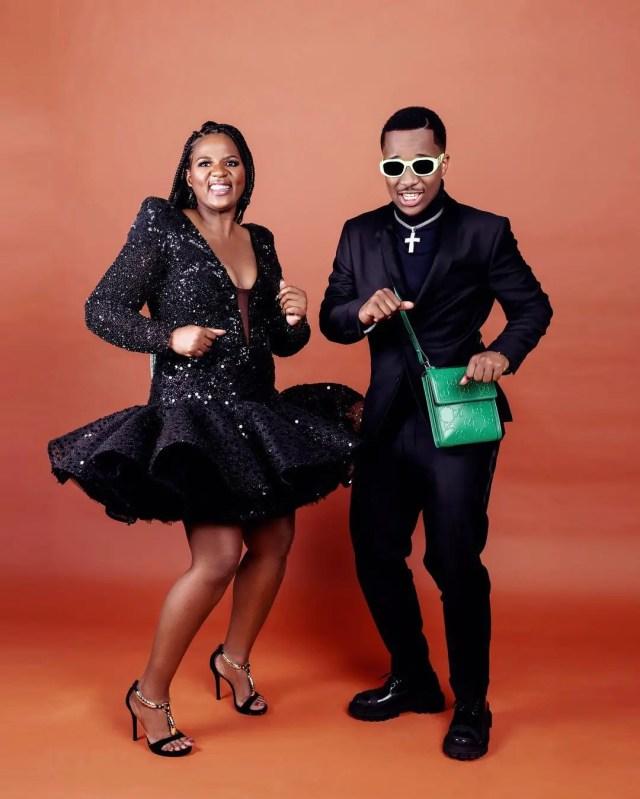 Shauwn Mkhize and Andile Mpisane