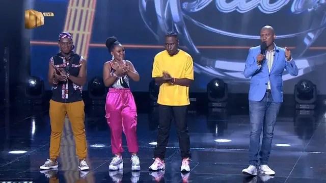 Top Three Contestants