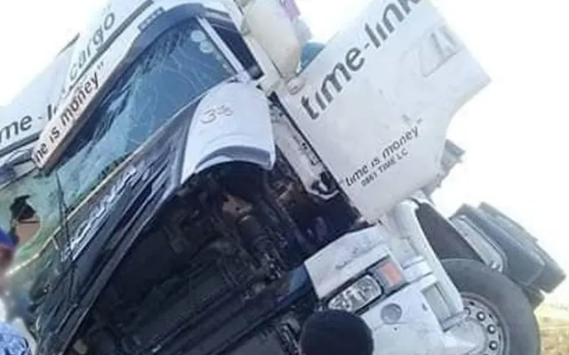Truck drivers attack