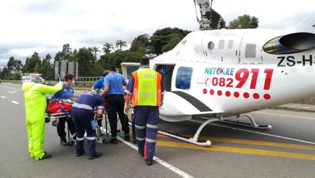 Two seriously injured