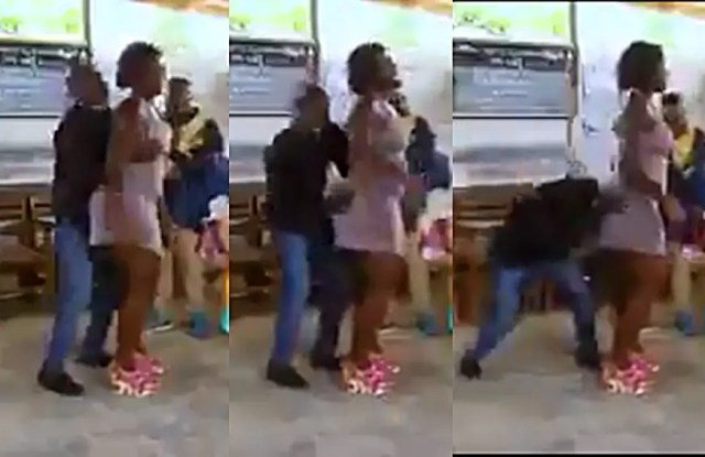 Video of Pastor grabbing @ss and feeling woman's b00bs during prayer time