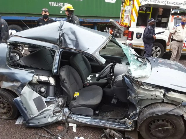 One serious injured in Durban collision