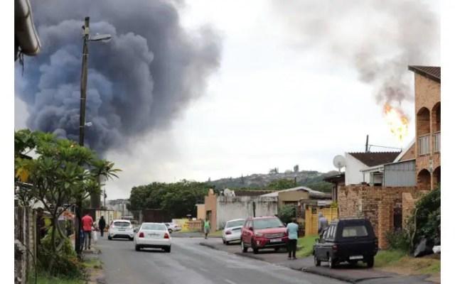 Engen refinery blast