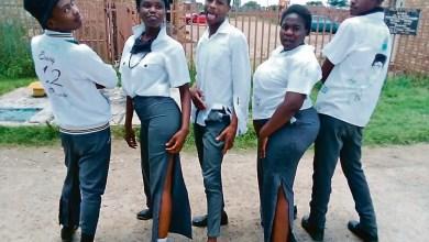 Hosea Kekana Secondary School matrics pupils