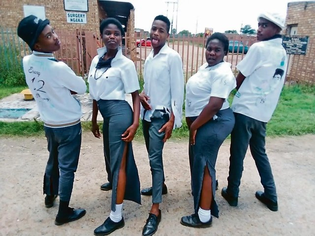 Hosea Kekana Secondary School matrics pupils