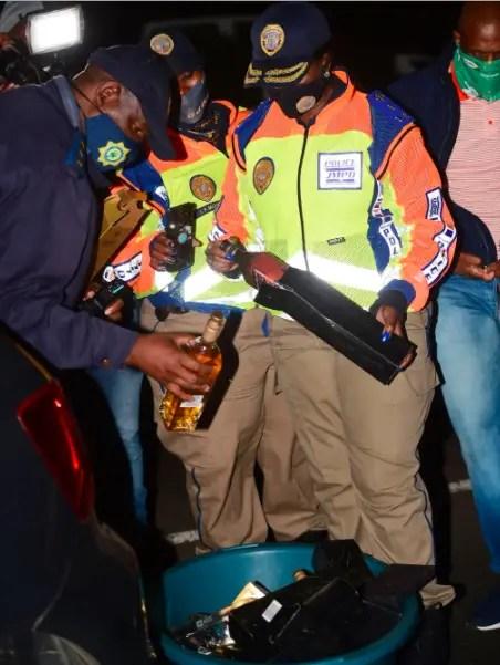 Police raid Soweto