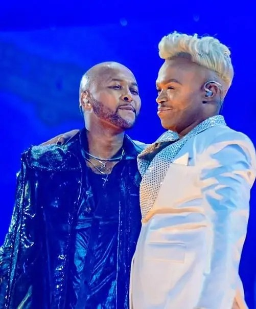 Somizi and Vusi Nova
