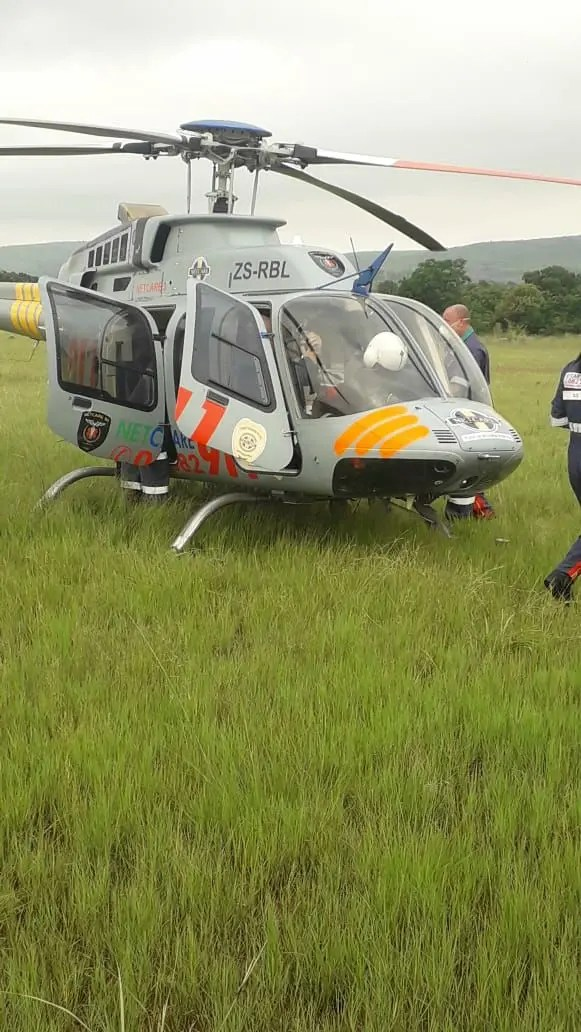 Two injured in aircraft crash