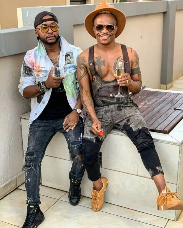 Vusi Nova and Somizi