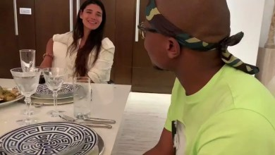 American actor Vin Diesel and his girlfriend invite Master KG into their house