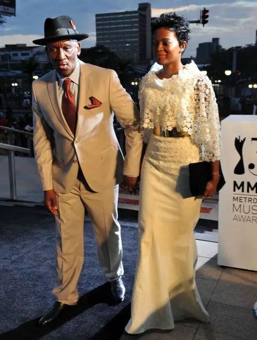 Bheki Cele and Thembeka Cele