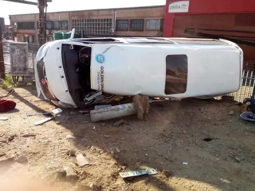 Pregnant woman among 3 killed in Giyani taxi and ambulance crash