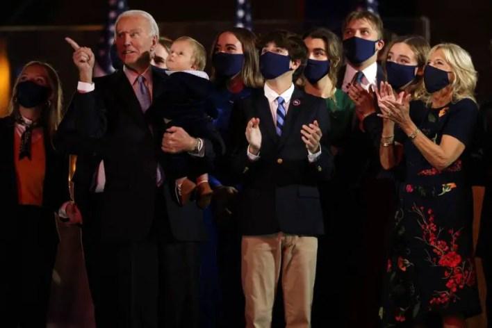 President Joe Biden and his wife
