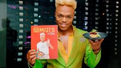Somizi Mhlongo's cookbook