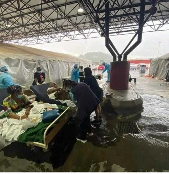 Steve Biko Academic Hospital covid-19 situation