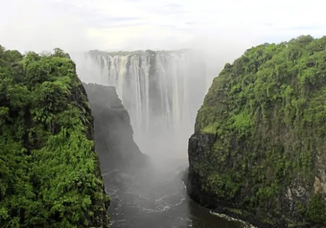 gorge at Victoria Falls
