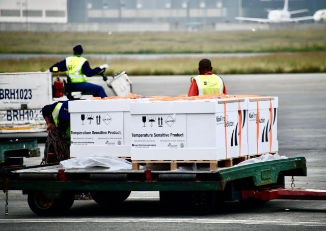 2nd batch of Johnson and Johnson vaccines arrives in SA