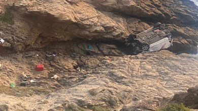 Area near Voëlklip cliff claims more lives after crash kills 2