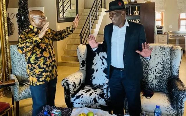 Bheki Cele and Jacob Zuma