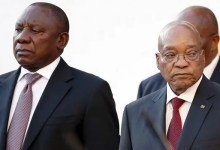 Cyril Ramaphosa and Jacob Zuma
