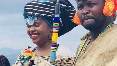 Khusela Diko and husband Chief Thandisizwe Diko II