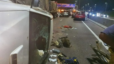 Man dies after allegedly jumping from bridge in front of an oncoming truck