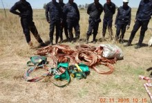 Transnet employees arrested for copper theft worth R1.9 million