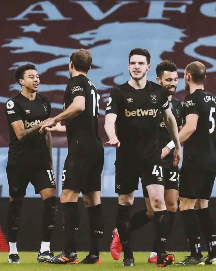 Aston Villa 1 – 3 West Ham