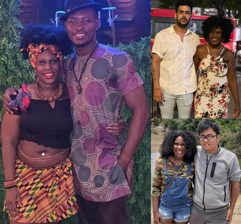 Woman shows off her 20 different types of men she has slept with in her life