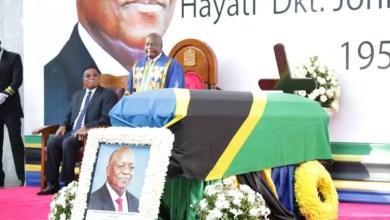 John Magufuli funeral service