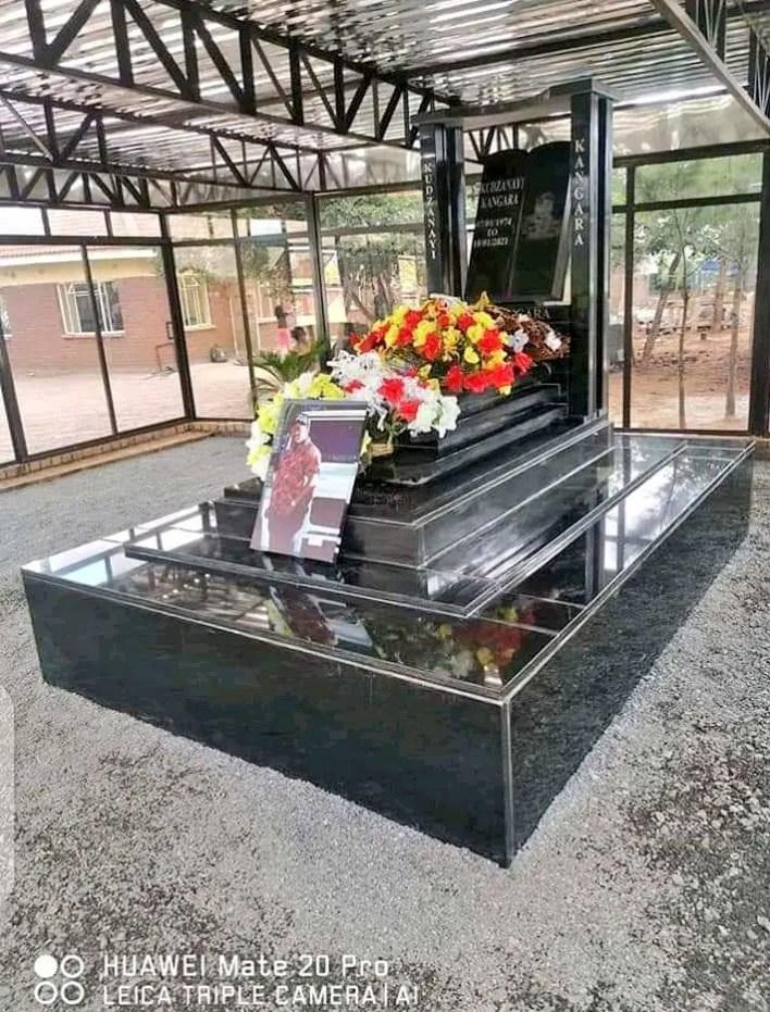 Kudzai Kangara tombstone