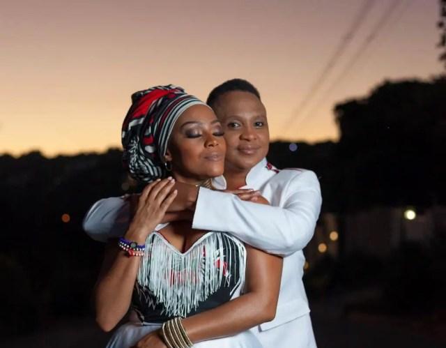 Letoya Makhene and Lebo Pulumo