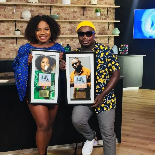 Makhadzi Earns her very First Gold Plaque