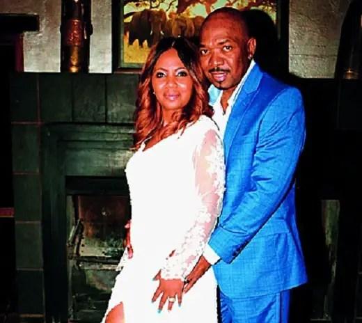 Menzi Ngubane and wife