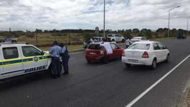 Passenger arrested after woman fatally stabbed while driving along Cape Town road