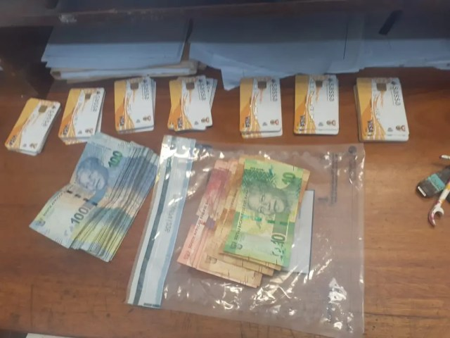 Police arrest driver of luxury car with 70 Sassa cards