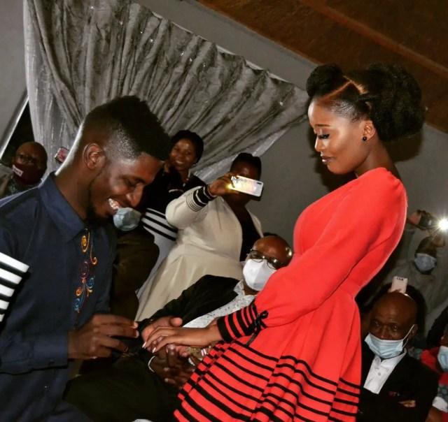 Sinesipho Mbandazayo and Karabo Mogane