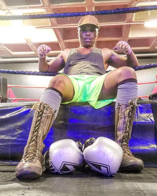 Somizi boxing