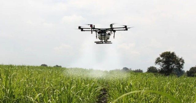 drone in Farming project