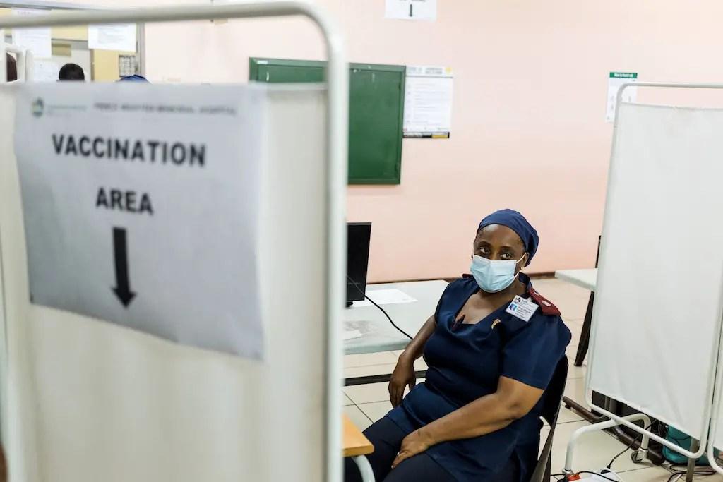 inoculation sites vaccination area