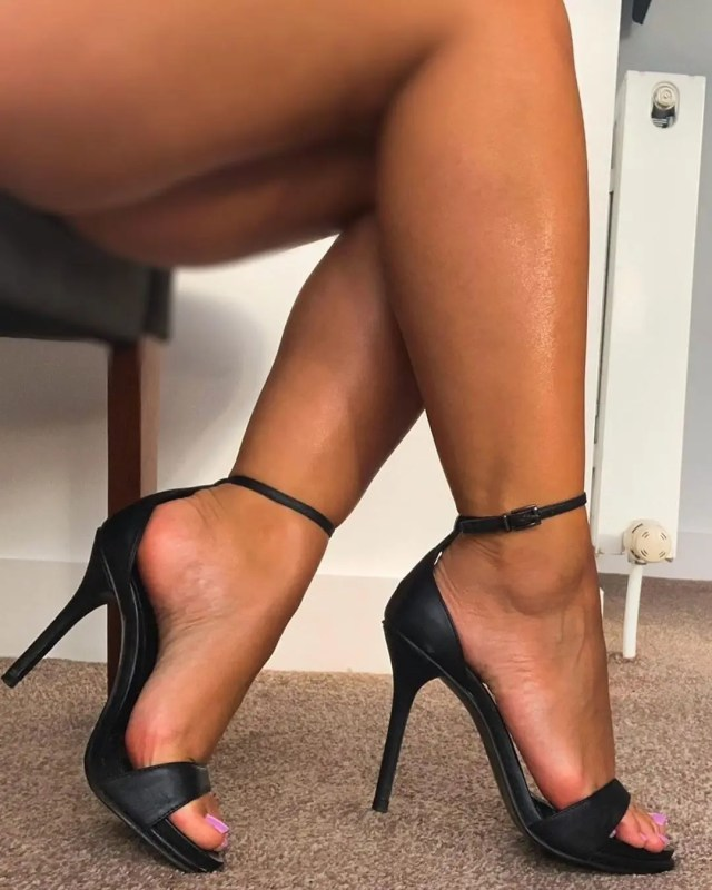 woman lady in heels