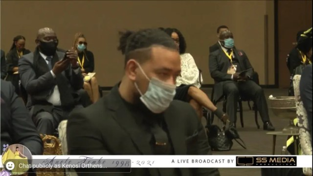 AKA during Nelli funeral service