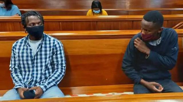 Lunga Welcome and Masixole Mbeke